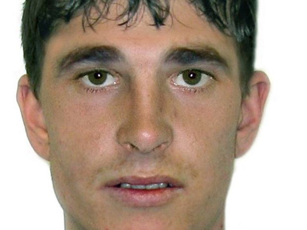 Police have released this comfit of a man they believe is a suspect in a bashing on the Burnett Traffic Bridge. Photo Contributed