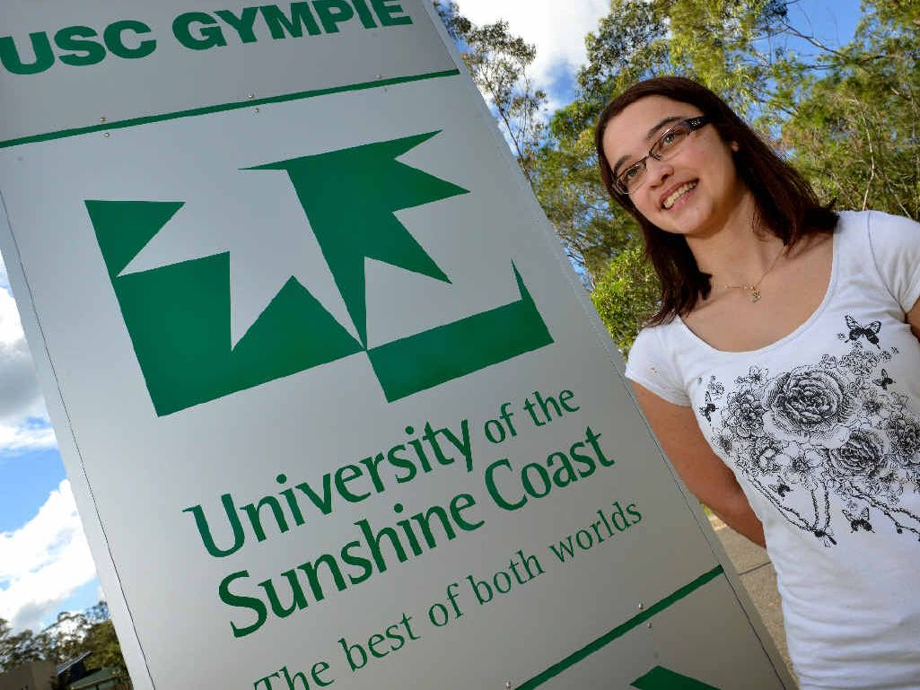 USC GYMPIE: Bree Hughes. Photo Patrick Woods / The Gympie Times