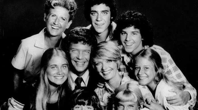 A June 1975 photo of the cast of the TV series
