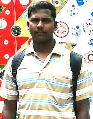 Tamil asylum seeker Leo Seemanpillai. Photo: Combined Refugee Action Group