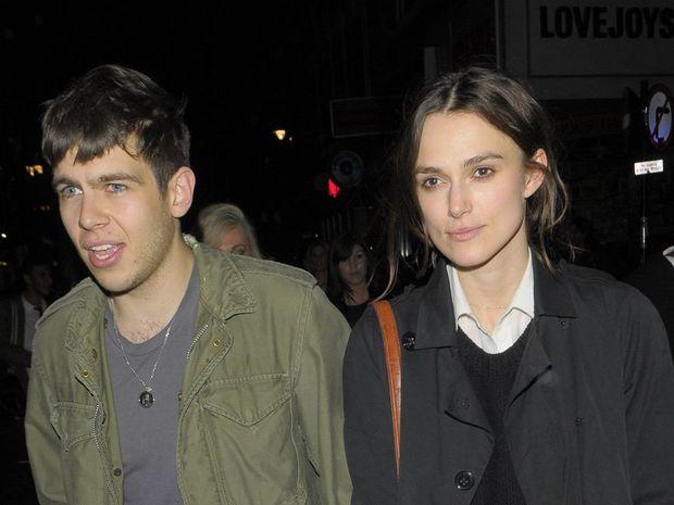James Righton and Keira Knightley