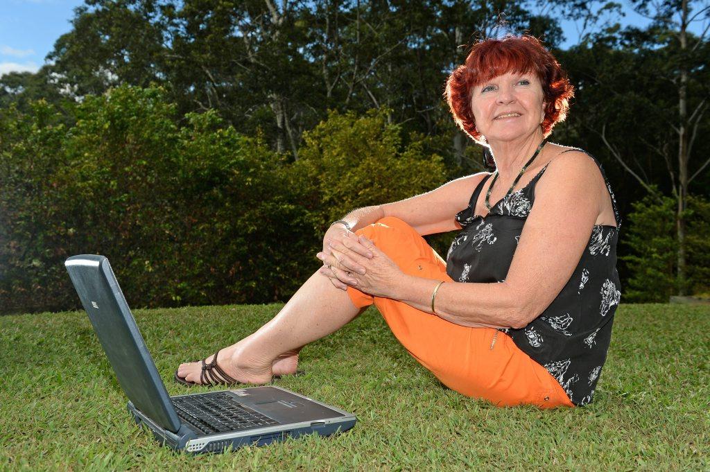 Sue Reynolds at home after attending a mentorship program.