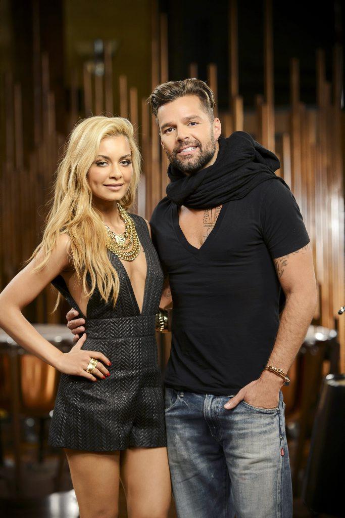 Singer Havana Brown joins Ricky Martin for The Voice showdowns.