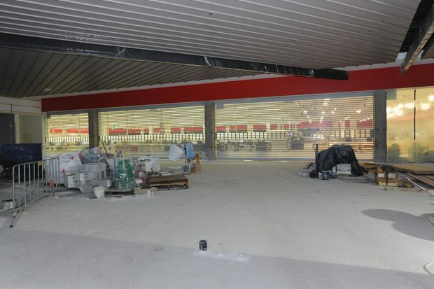 The front of the new Coles outlet at Stockland in Hervey Bay.