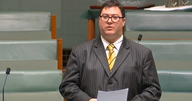 Dawson Coalition MP George Christensen