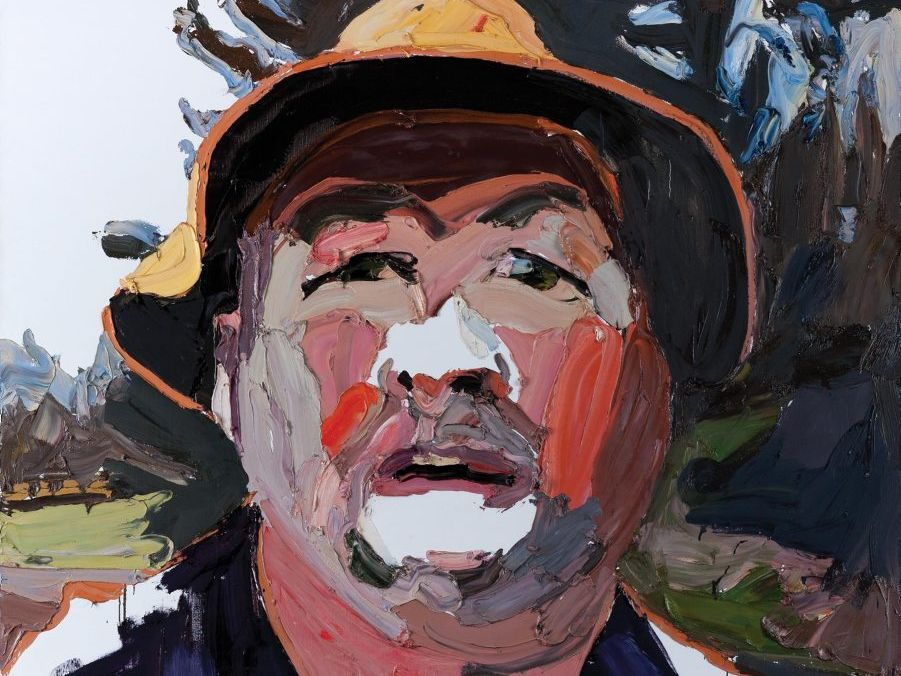 Ben Quilty   The Evo project, Sheep Wash Road 2012   oil on canvas   Purchased with funds from Rockhampton Art Gallery Trust and public donations 2012   2012 Gold Award finalist   Image courtesy the artist and Jan Murphy Gallery