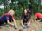 Kids go 'batty' and plant trees to celebrate