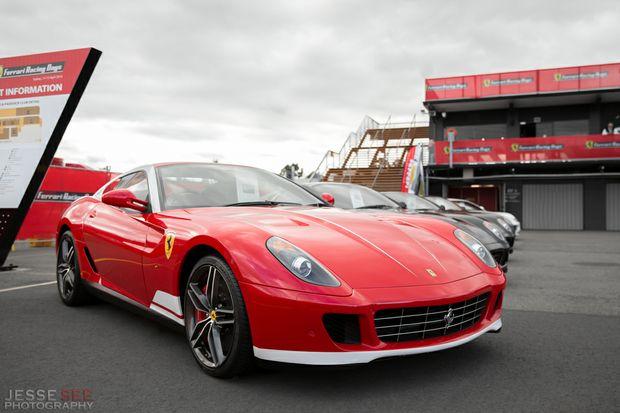 The 2012 Ferrari 599 GTB HGTE 60F1.