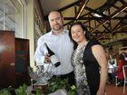 Wine Show public tasting at Toowoomba Showgrounds. Dale and Amanda Ferguson representing bakkheia reds. Bakkheia was named grand champion Photo: Bev Lacey / The Chronicle