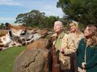 Conservation's living legend causes stir at the zoo