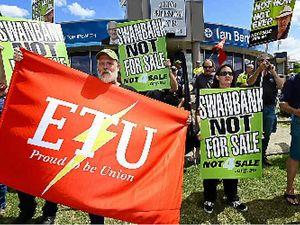 Choat slammed by ETU for asset sale backdown