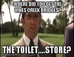 Vines Creek Bridge memes