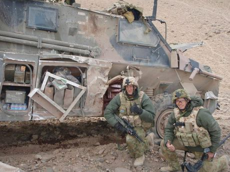 Damien Price served with the Australian Defence Force in Afghanistan.