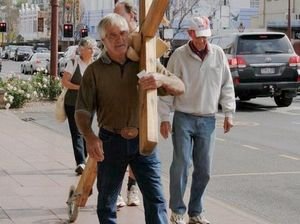 Call from God brings crucifix to Toowoomba
