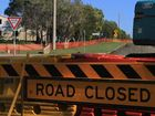 Construction on Bideford St is at least a month away from being completed. Photo: Brendan Bufi / Fraser Coast Chronicle