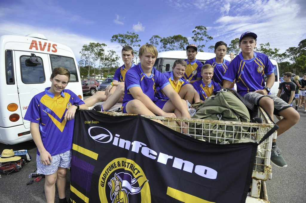 Gladstone Raiders juniors from under 13s, 14s and 16s were buzzing Friday morning ahead of their trip to Emerald for QC Capras selection trials.