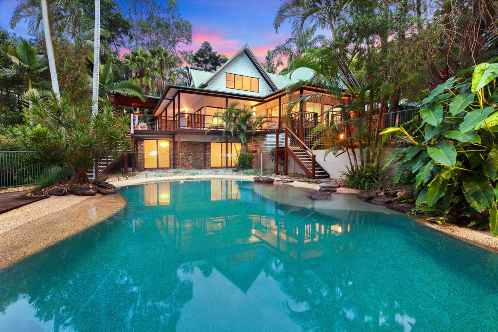 Shelley Craft family home in Byron Bay goes to auction 5 July 2014. Photo Contributed