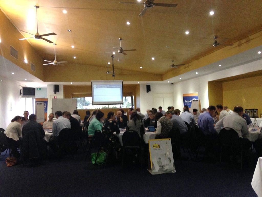 ResourcesQ workshop in Emerald.