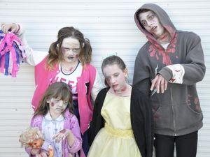 Walking dead to premiere on Toowoomba streets