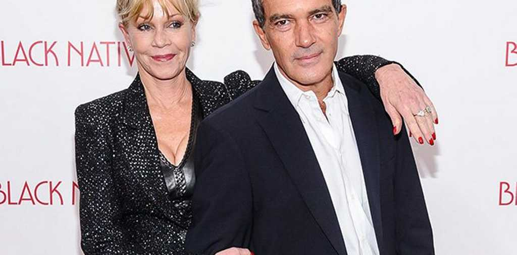 Melanie Griffith and Antonio Banderas.