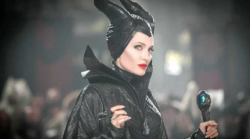 SPELL BINDING: Angelina Jolie in a scene from Maleficent.