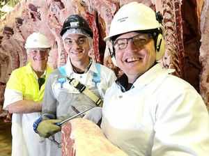 Ipswich workers carve juicy cuts for top gong