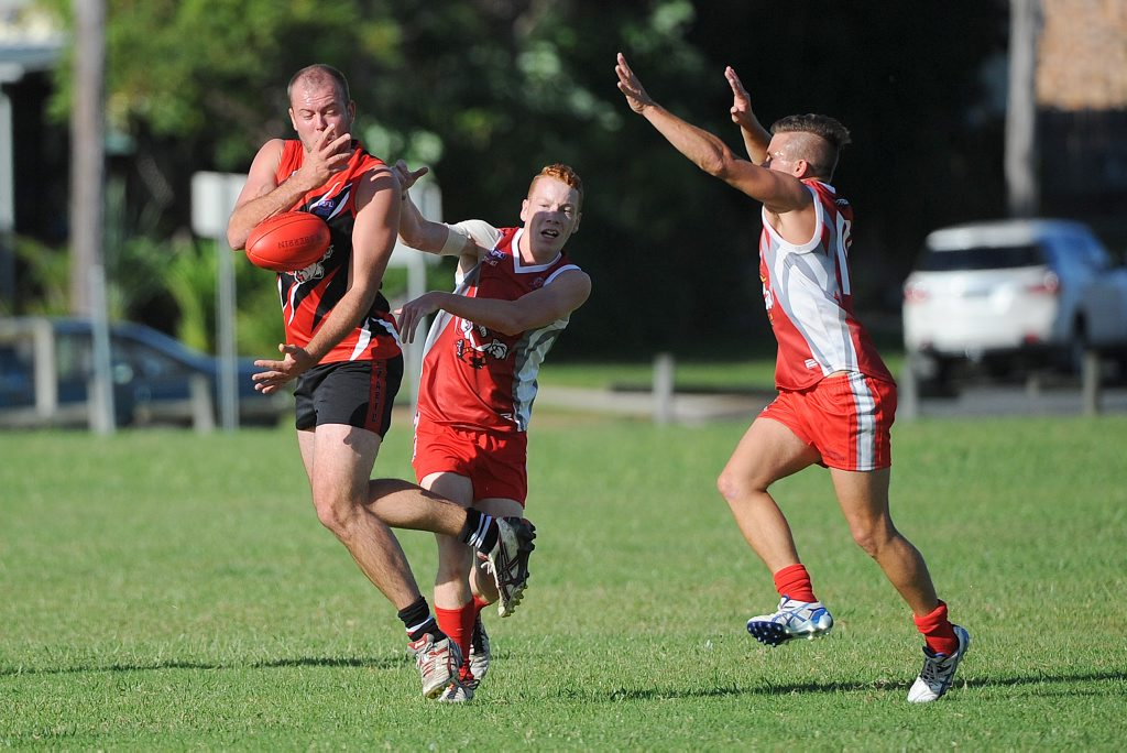ANTICIPATED CLASH: Many believe today's encounter between Coffs Swans and Sawtell/Toormina at Fitzroy Oval will be a grand final preview. Photo: Leigh Jensen
