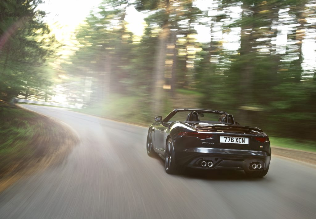 BEST BUM TO BUY: F-Type Convertible is quite the looker.