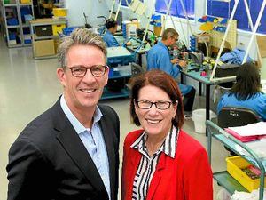 Bundy-based manufacturer taking on the world