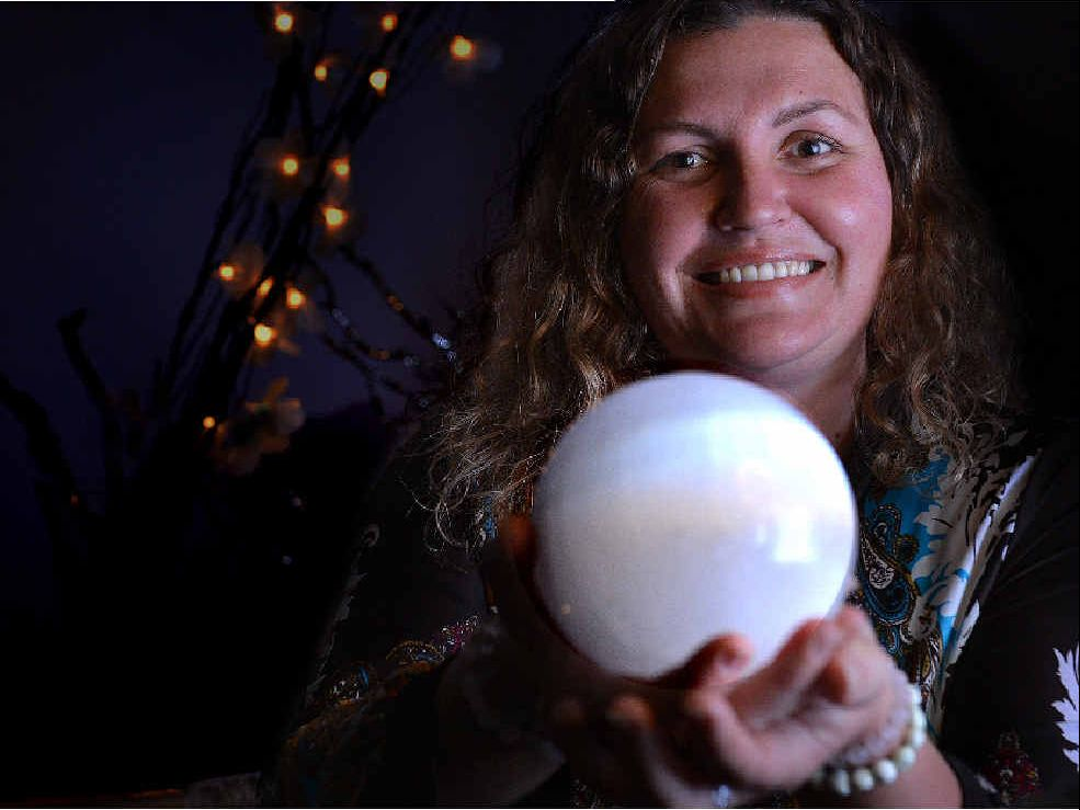 EMPOWERMENT: Natasha Symons from Magicality in Gympie says there is nothing to fear today. PHOTO: RENEE PILCHER