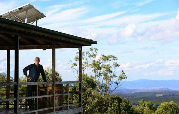 The Stone House Retreat owner Cameron Wyatt.