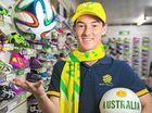 Football fans snap up Socceroos merchandise
