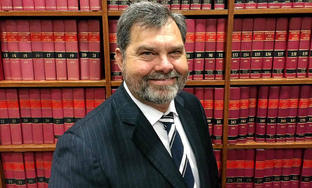 Queensland Chief Justice Tim Carmody