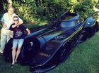 Superhero enthusiast builds his own Batmobile