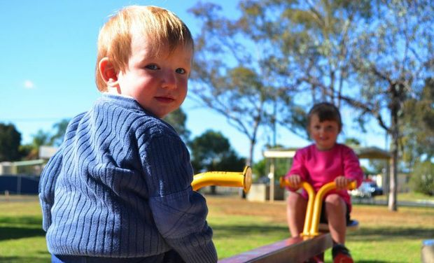 FUN RAISING: Zac Chappel and his big sister Ella will be at the fundraising launch later on this afternoon.