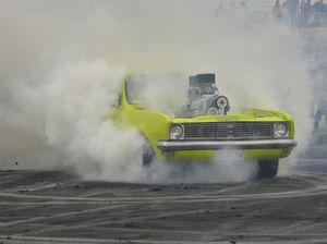 Burning rubber at Charlton