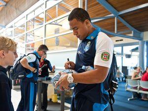 NSW Blues leave Coffs Harbour