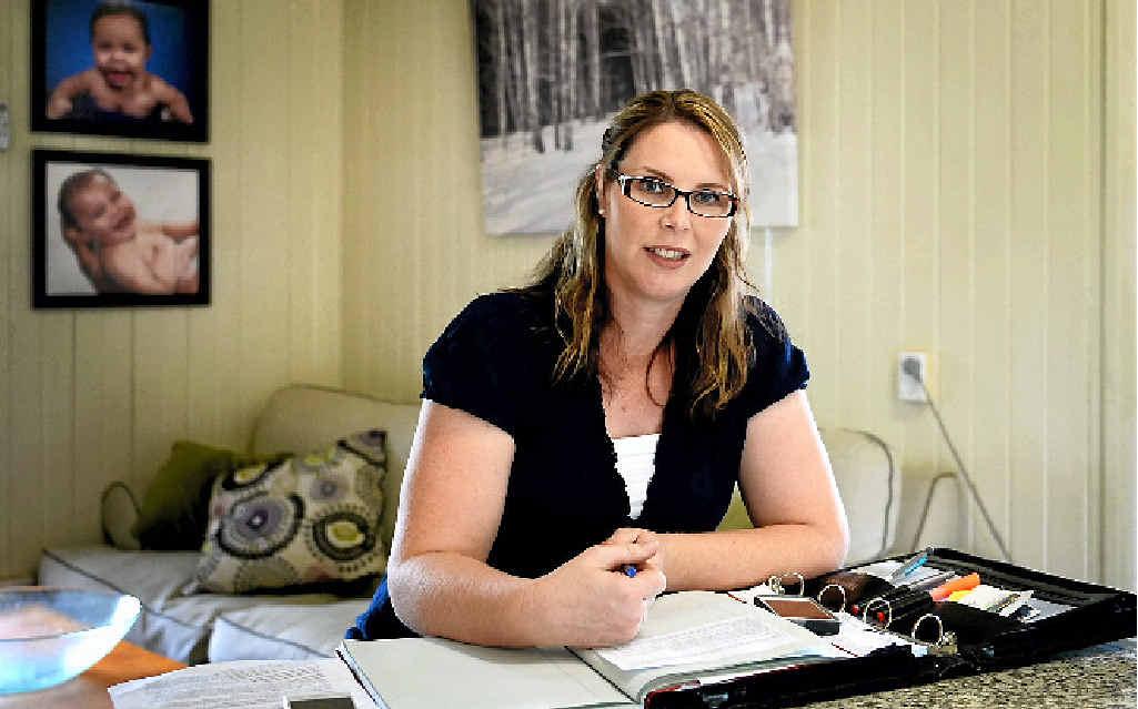 LNP candidate for Rockhampton Bridie Luva. Photo Allan Reinikka / The Morning Bulletin