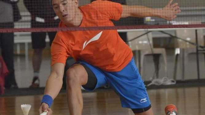 DRAW CARD: Queensland No.1 Wes Caulkett plays in Toowoomba.