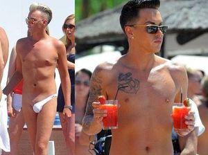 Latest in men's swimwear: Where's the other half?