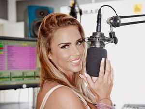 Katie Price hits the airwaves with radio show