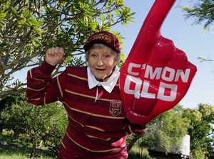 Great grandma's tribute puts the ode into Origin