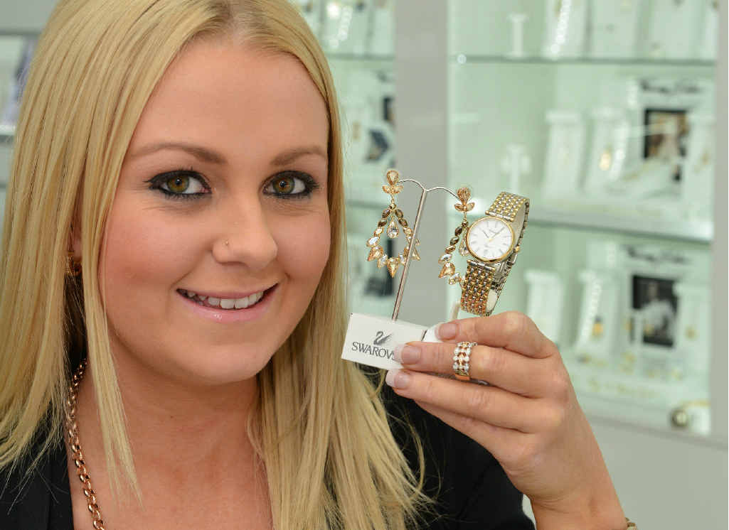 SIMPLY UNIQUE: Emily Arnell of Mia Bella, which has donated a unique piece of jewellery for the Frozen in Time ball.