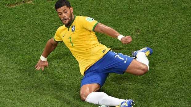 Brazil striker Hulk.