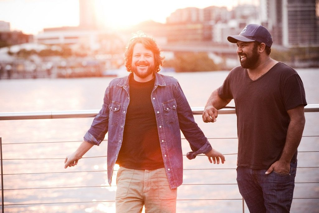 Tom Busby and Jeremy Marou are up for National Song and Album of the Year.