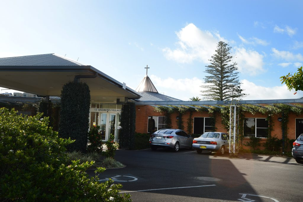 St Andrews Village nursing home in Ballina. Photo : Mireille Merlet-Shaw/The Northern Star