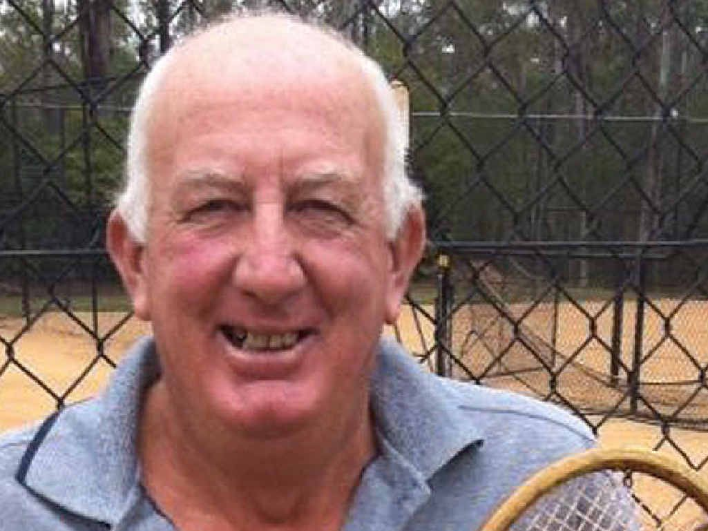 STALWART: Tennis coach Stuart Ware is passionate about recording and displaying Australia's tennis history.