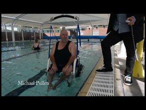 Cotton Tree Aquatic Centre gets new disability hoist