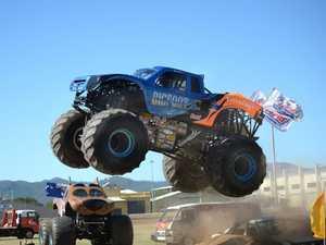 Monster trucks roll on into Rockhampton
