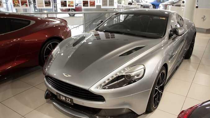 Rare 2013 Aston Martin Vanquish Centenary Edition Queensland Times